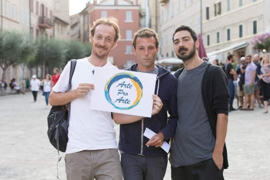 Niccolò Senni, Davide D'Onofrio and Andrea Angelini