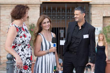President and Vice president of the ArteProArte Committee interviewed by RAI 3