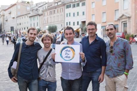 Vincenzo Starace, Cristiano Giuseppetti, Federico Bracalente, Aldo Campagnari and Daniele Di Bonaventura