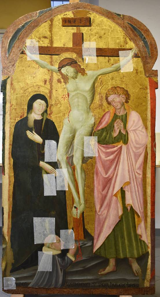 Camerino - Crucifixion Before Restoration